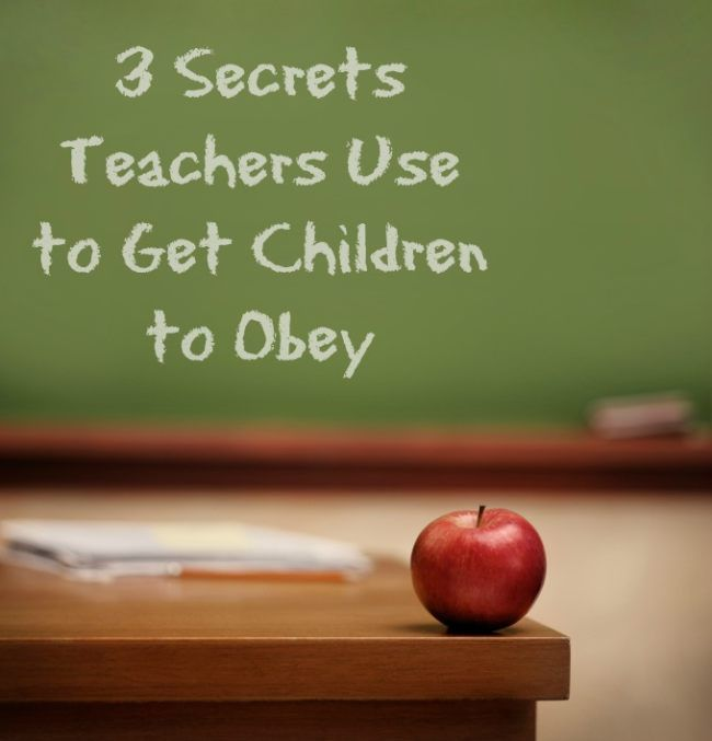 Tricks to get the kids to behave. I need all of these I can get.