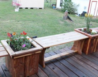 Slimline Timber Garden Planter Box For Balconies, Terrace, Patios And  Cafes. Vegetable PlantersDeck ...