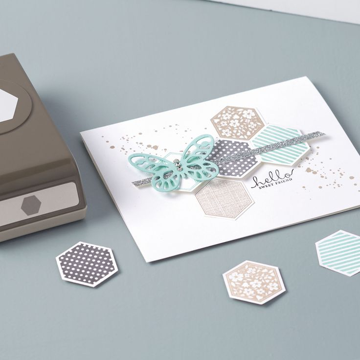 Eve Marie Makes: Stampin' Up! Six-Sided Sampler Card