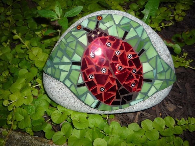 Ladybug by AMOSAIC, via Flickr