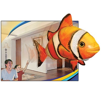 coolAir Swimmers Gi, Clowns Fish, Fly Fish, Remote Control You, Clown Fish, Balloons Power, Control Fly, Swimmers Remote, Air Rangers