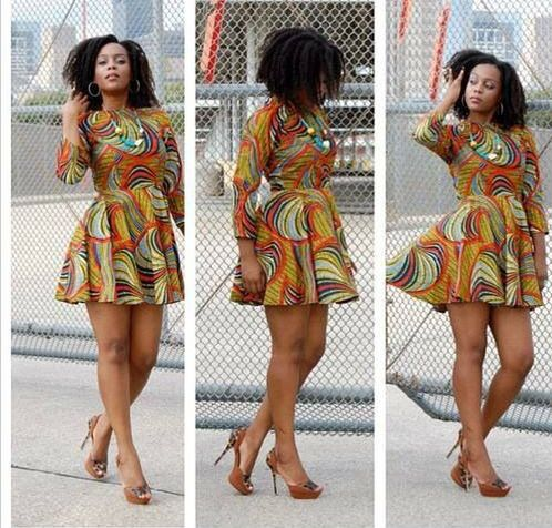 Ankara Dress Africanprint