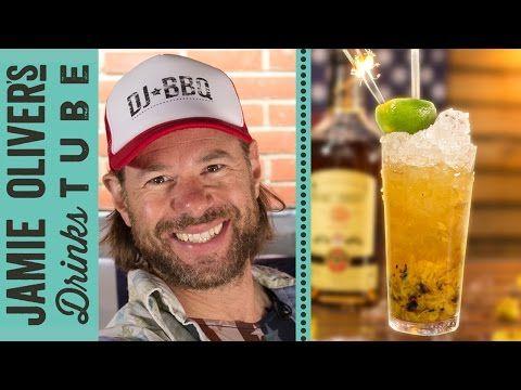 Grilled Pineapple Daiquiri Cocktail   DJ BBQ - YouTube