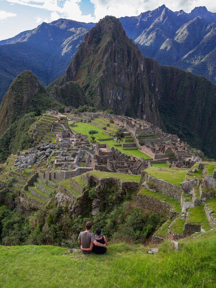 The stuff bucket list honeymoons are made of... Machu Picchu!
