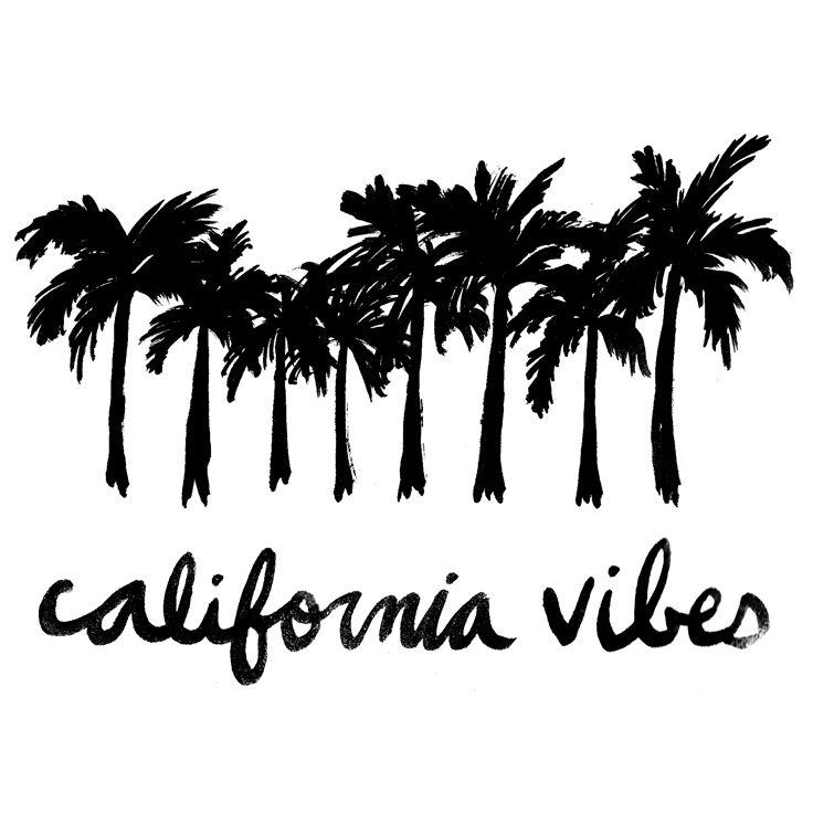 palm trees and sunshine. CALIFORNIA