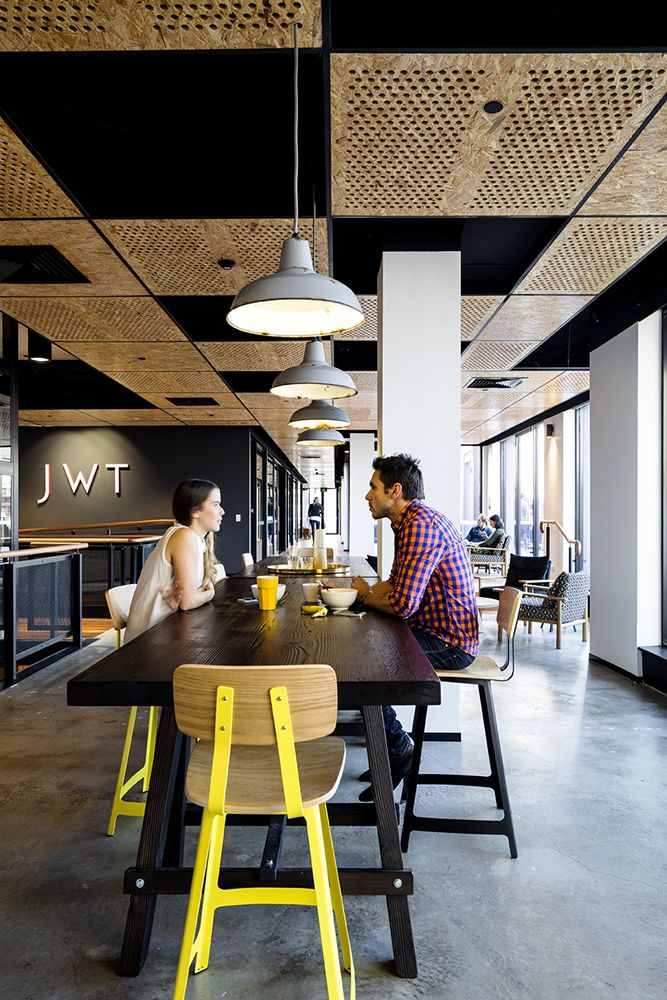 Jwt sydney headquarters sydney australia workspace interiors 2014 win awards · office ceiling designopen