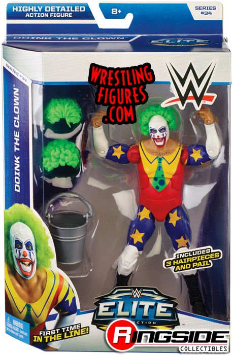 Doink the Clown - WWE Elite 34 | Ringside Collectibles