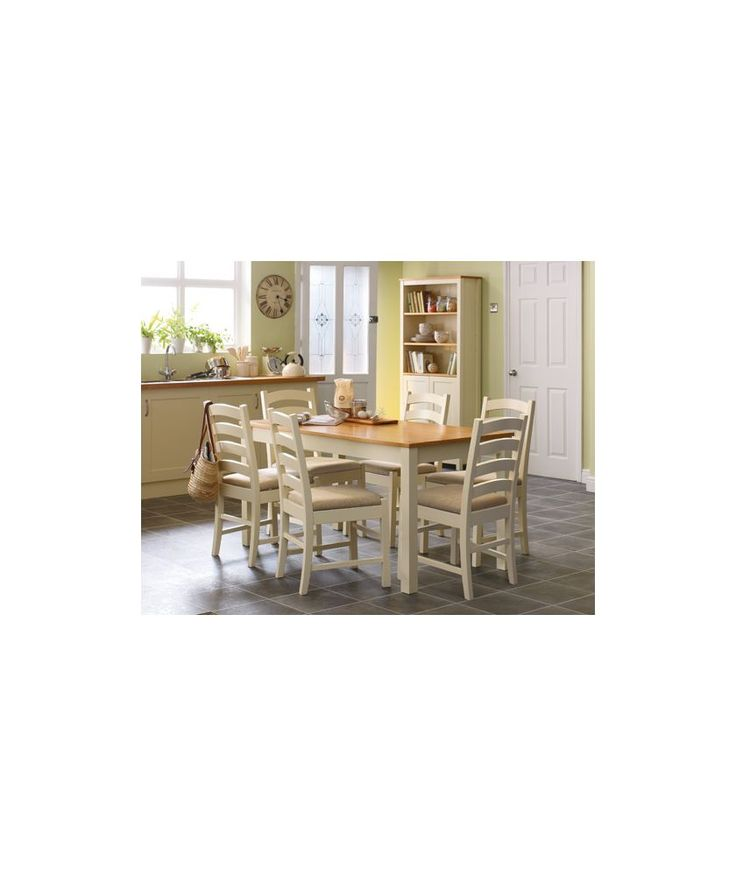 Buy Haversham Pine Dining Table And 4 Upholstered Chairs At Argoscouk