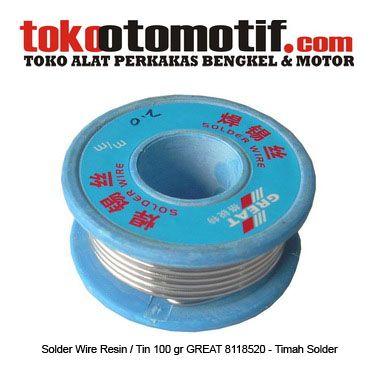 Kode : 12017000416 Nama : Solder Wire Resin / Tin 2.0 / 100 gr 8118520 GREAT Merk : GREAT Tipe : 8118520 2.0 100 gr Status : siap Berat Kirim : 1 Kg