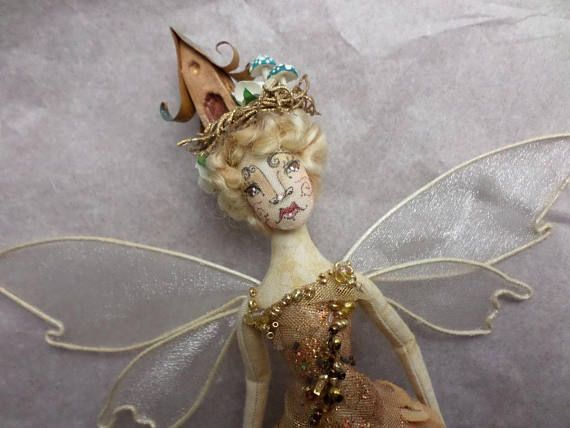 OOAK Fairy Art Doll  Miss Annelisa Antoinette Copperton
