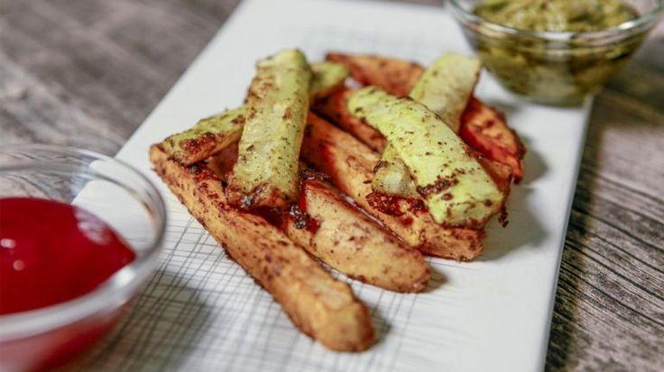 Milujete hranolčeky, ale chcete ich v zdravšej verzii? Vyskúšajte tie z batátov a cukiny, sú vynikajúce   Tivi.sk