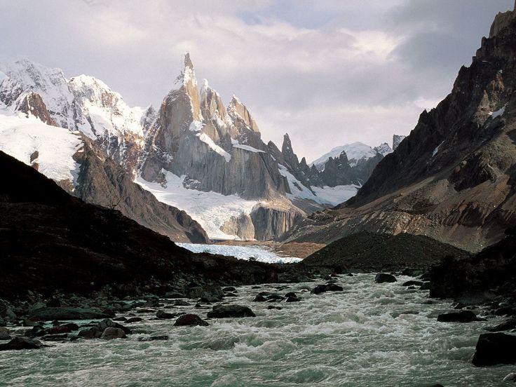 Cerro torre los glaciales
