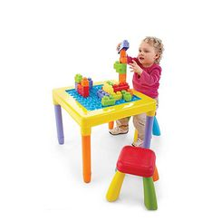 PLAYGO 'My Play Table' With 2 Stools