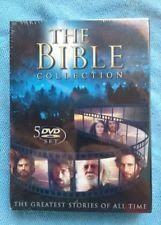THE BIBLE COLLECTION THE GREATEST STORIES OF ALL TIME 5 DISC DVD SET 2009
