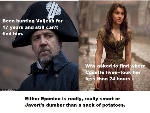 Evidence that Eponine would be a better inspector than Javert.