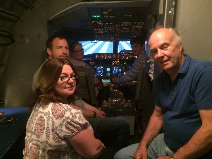P.A. Thorpe Ltd: Staff at PA Thorpe Ltd, a leading distributor of agriculture and construction components, took off for a team-building adventure in Shannon, Ireland, where they had a go at being pilots using the Atlantic AirVentures flight simulator at the Irish airport.