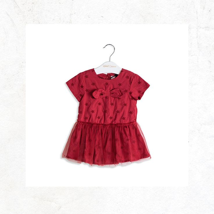 Little dress for baby girl #tulle #tutú #fashionkids #fashionbabygirl #specialoccasions #SpecialOC #OFFCORSS