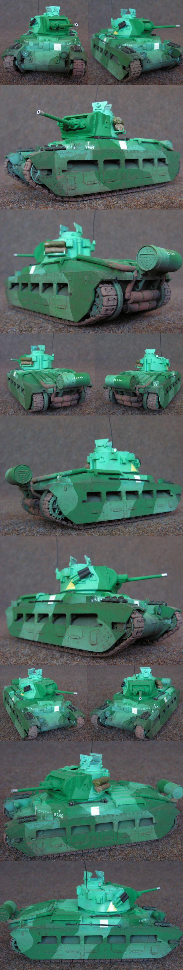 Matilda II Mk.I. Greyna, Francie, 1941 Tamiya