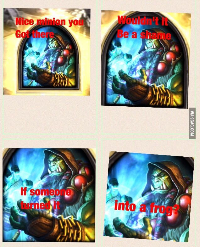Hearthstone players know