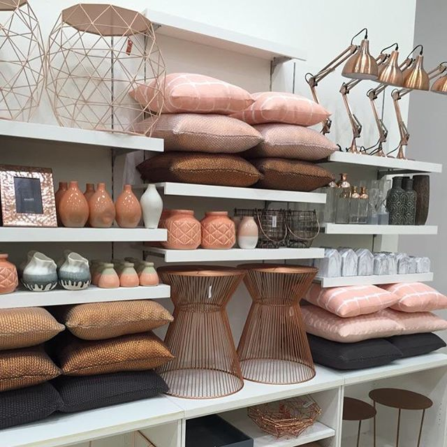 Our obsession with copper and pastels continues with so many new season homewares in store now so you can create the home you love #ozdesign #ozdesignfurniture #homefurnishings #homewares #living #luxeinteriors #interiors #homedecor #wallart #mirrors #cushions #stools #decorator #newseason #vases #lamps #mirrors #clocks #style #design #copper #pastels #peach #pink #interiordesign #design #F4F #tagforlikes #FF #instafollow
