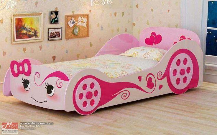 Tempat Tidur Anak Perempuan Model Mobil (R3)