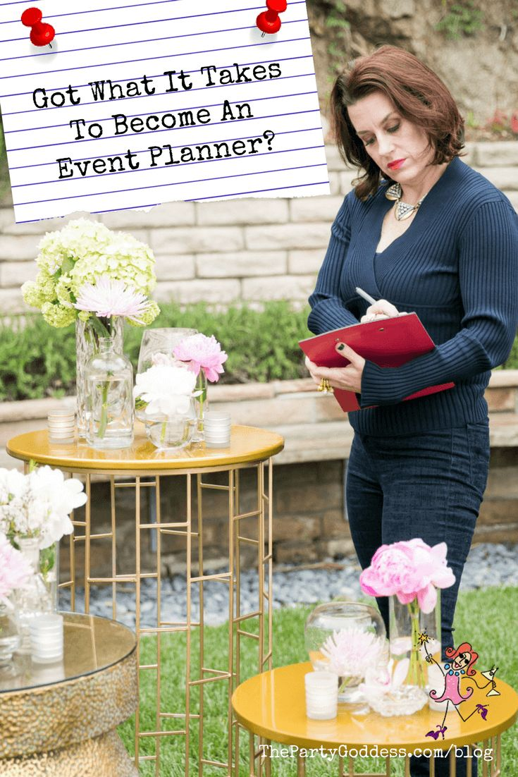 Tips for breaking into the event planning business! | The Party Goddess!