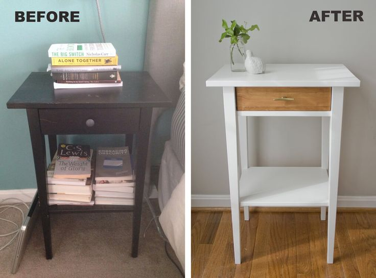 Easy and Fancy Nightstand Makeover