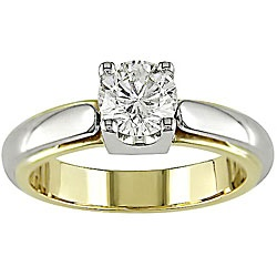 11 best Rings images on Pinterest Two tones Round diamonds and