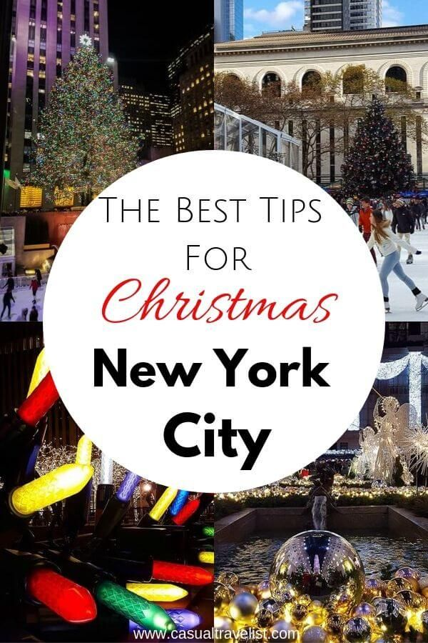 Top Tips for visiting New York City at Christmas