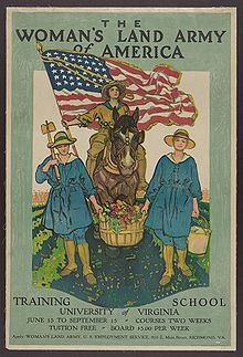 women's land army of america: Women'S Land Army, History War Posters, Food War Posters, Farming Posters, America Training School, Women S Land, Woman S Land, Army War History