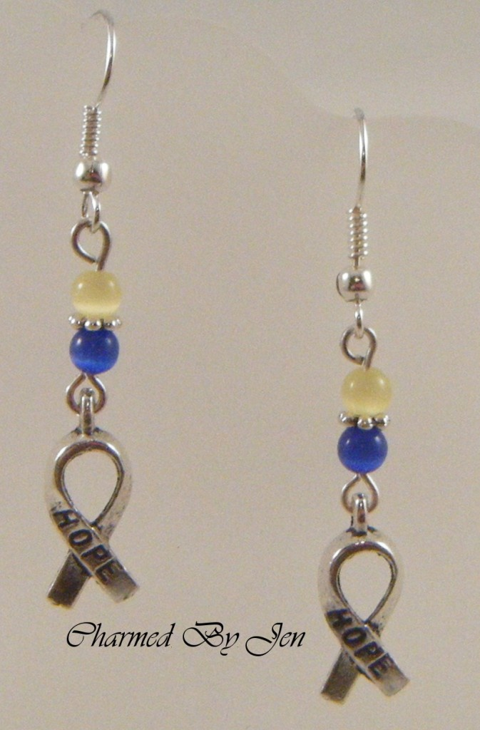 down syndrome jewelry charms | Down Syndrome Awareness Earrings w Hope Charms | eBay
