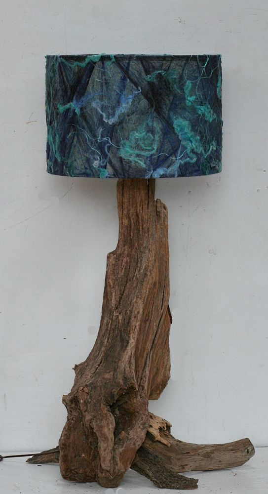 Driftwood Table Lamp Shade Included 98cm Tall To Top Of