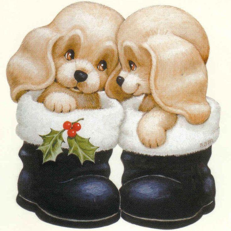 Поздравление, игрушки собачки открытки