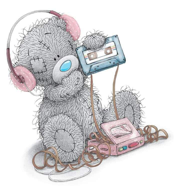 Картинки мишки тедди с телефоном