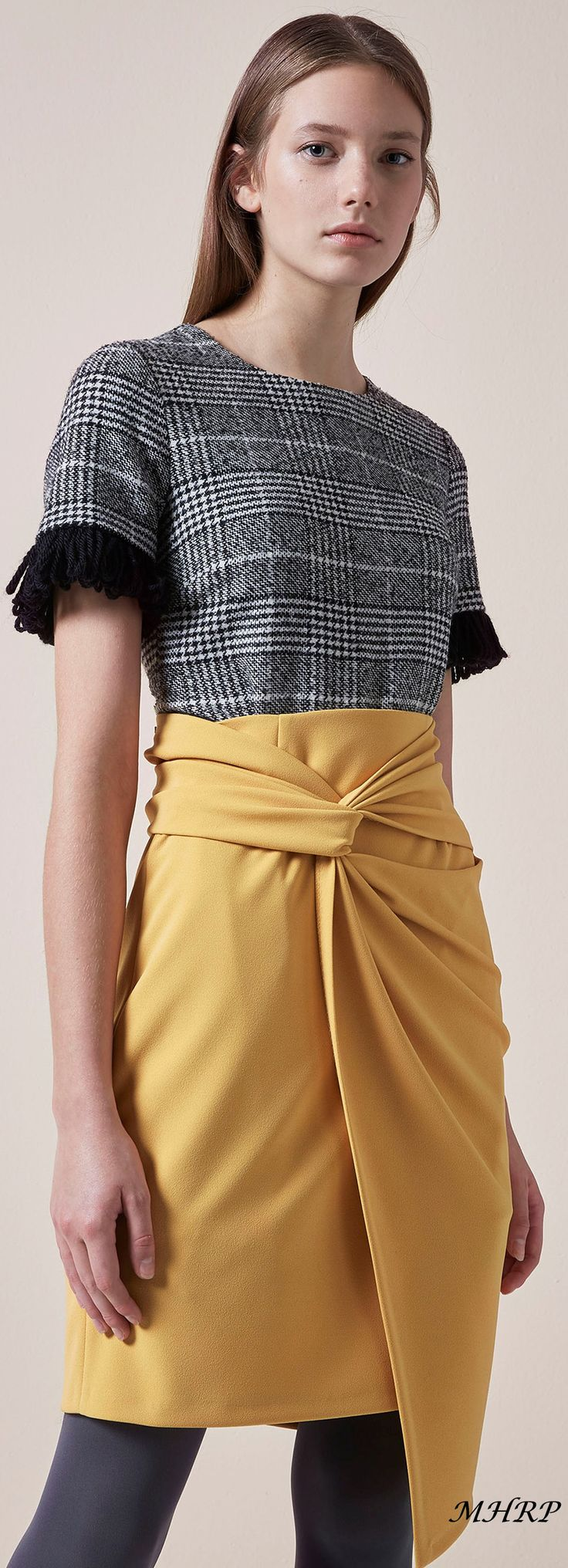 Blugirl Pre-Fall 2018_image from vogue.com - This Top  Vouge Fashion just sold on Wrhel.com Want to know what she paid for it? Check it out.
