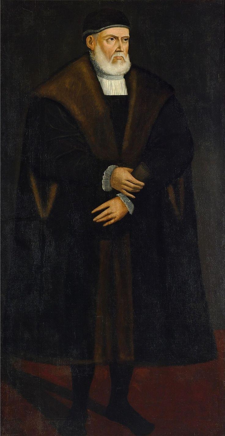 Portrait of King Sigismund I the Old by Anonymous, 1550s or before 1642 (PD-art/old), Zamek Królewski w Warszawie (ZKW)
