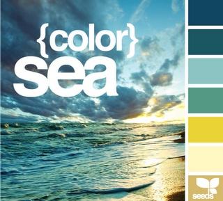 perfect colour combo. : Colors Pallets, Colors Combos, Living Rooms, Design Seeds, Colors Palettes, Colors Schemes, Colour Palettes, Master Bathroom, The Sea