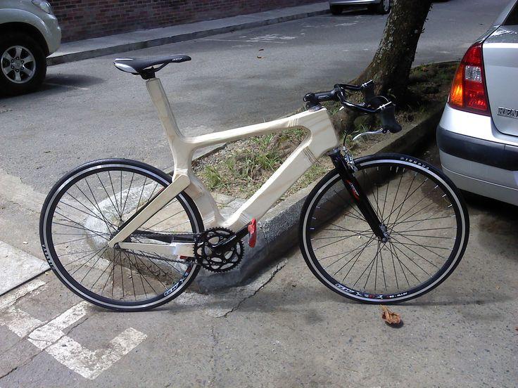 Diseño y fabricación de mi bicicleta de madera
