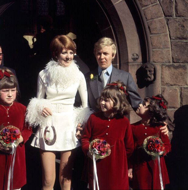 Cilla Black and Bobby Willis get married