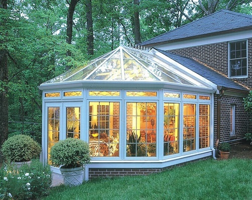Sunroom: Maybe this is a solution to the deck/back door issue
