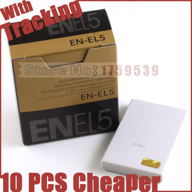 EN-EL5 EL5 ENEL5 Camera Battery for Nikon MH-61 P100 P3 P4 P500 P510 P5000 P5100 P6000 P80 P90 S10 3700 4200 5200 5900 7900