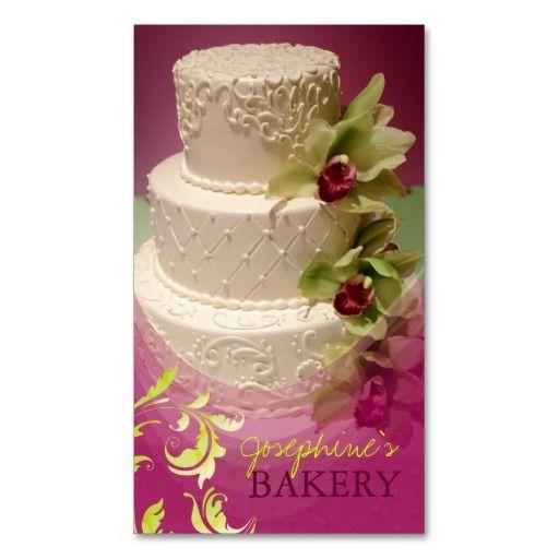 235 best bakery business cards images on pinterest bakery business minniemay wedding cake swirlscymbidium business card reheart Choice Image
