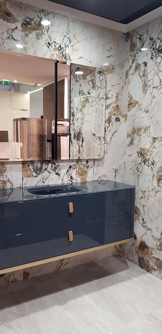 salle de bain en marbre showroom david