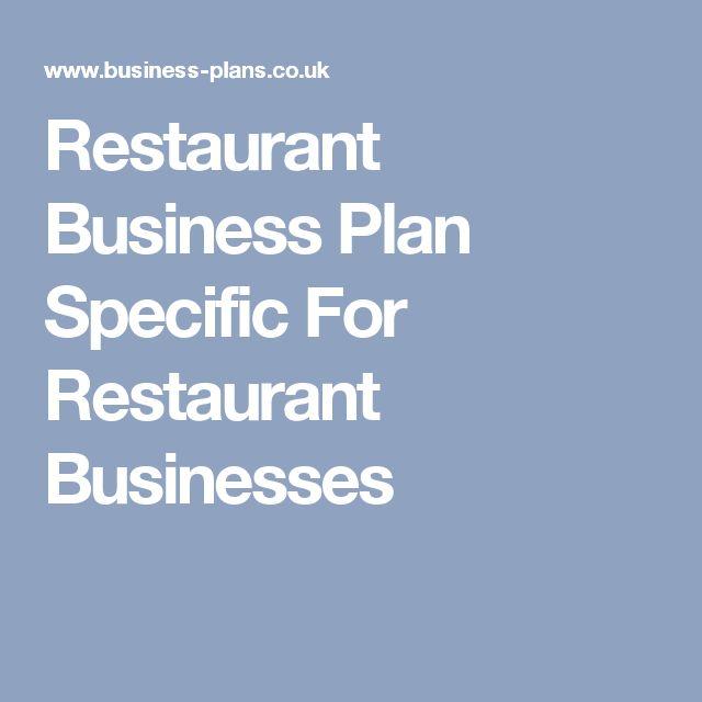 Mer enn 25 bra ideer om Restaurant business plan på Pinterest - restaurant business plan template
