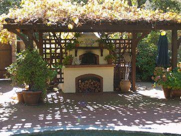 Mugnaini Pizza Ovens - Outdoor Oven OUTDOOR OVEN on VERANDAH a surrounding work area idea ish ?