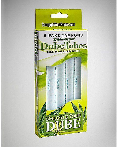 Dube Tube Tampon Flask 1 oz - Spencer's