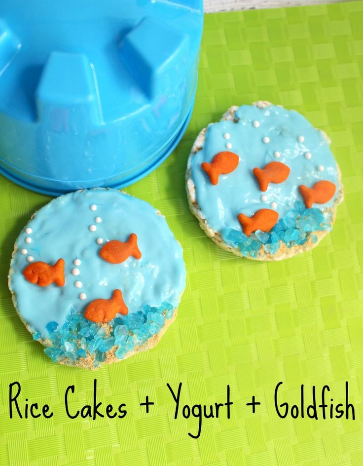 "YUMMY & Healthy Kids After School & Party Snack Idea - this is so simple to make! Would pair great with an ""under the sea"" ocean theme!"