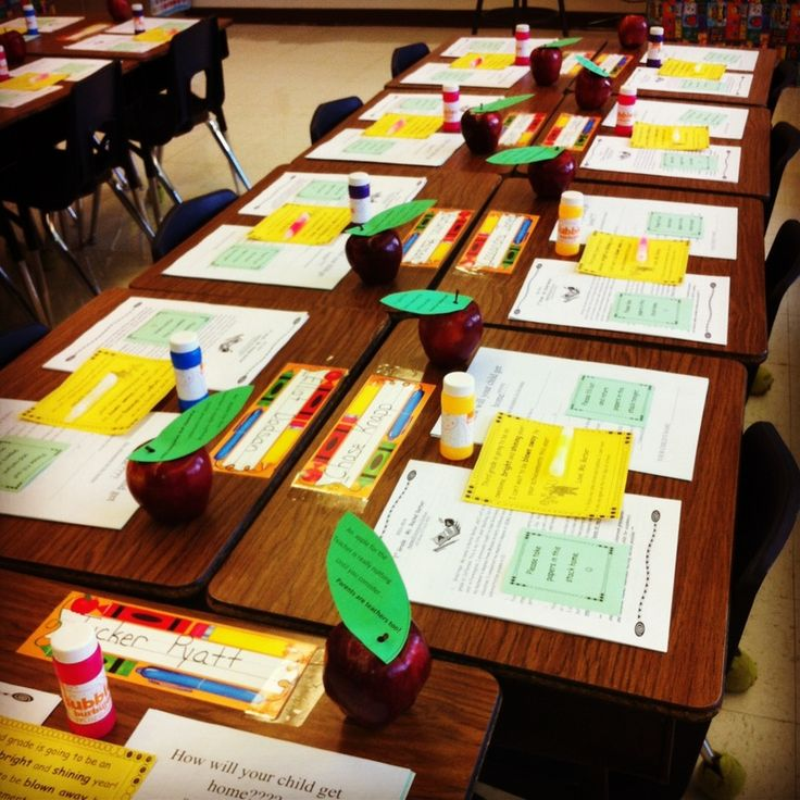 meet the teacher night ideas for third grade