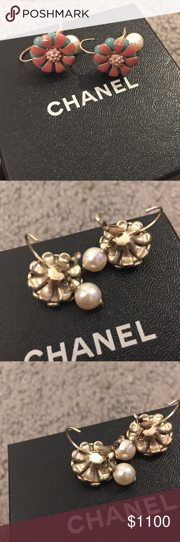 chanel earrings price. authentic chanel earrings (2017) bnwot price