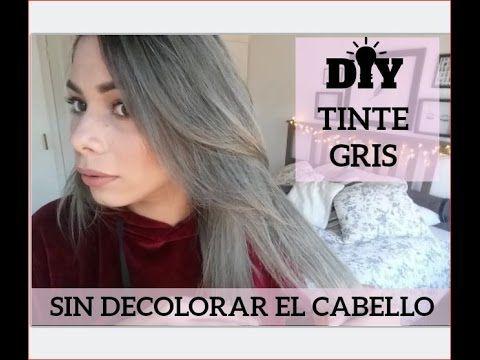 DIY cabello gris o plata en casa (haz tu propio tinte gris)